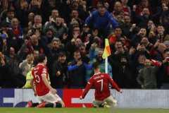Gol Cristiano Ronaldo bantu Manchester United taklukkan Atalanta 3-2